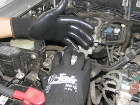 NITRILE COATED PALM Safety Work Gloves