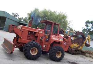 R100 trencher , 100hp perkins , 9ton machine