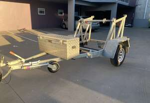 Heavy Duty Bambalina Cable Drum Trailer