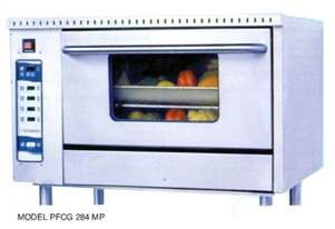 Goldstein PFRB2420 Radiant Gas Char Broiler With Oven