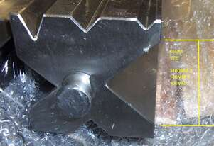 MULTI VEE PRESS BRAKE BOTTOM DIES | 100, 120 & 150MM SQ | 3 & 4M LENGTHS