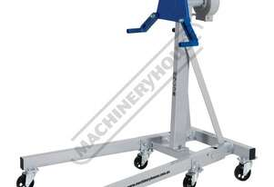 ESR-450 Engine Stand - 450kg Capacity 6 x Swivel Caster Wheels & Fold Up Legs User Friendly Hand Ope