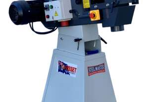 Quality 150mm Heavy Duty Industrial Linisher - Tilting With Front & Top Linishing Surfaces V