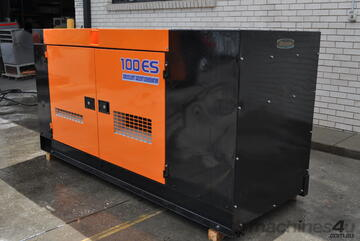 88 KVA ISUZU DENYO SILENCED INDUSTRIAL DIESEL GENERATOR SET < PERFECT CONDITION > READY TO WORK