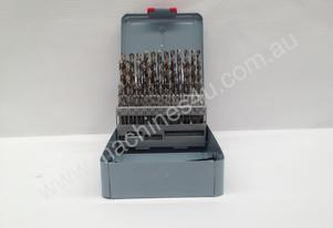 51Piece HSS Drill Set - 1.0mm - 6.0mm - 0.1mm Incr