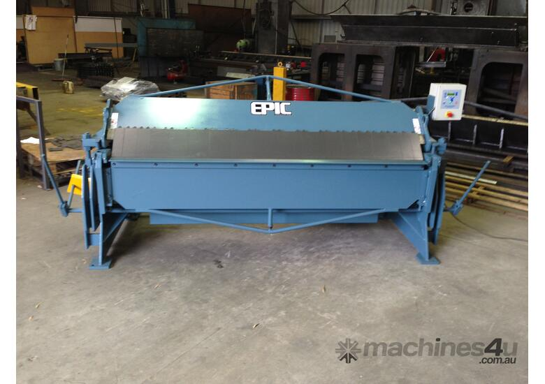 EPIC 2500 x 2.0mm Semi-Hydraulic 415V Pan Brake