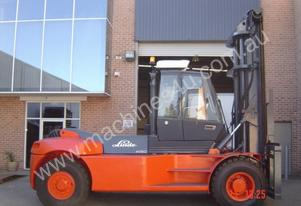 16 T Linde H160 (3 standard Container Stacker)
