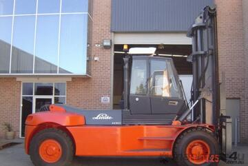 SALE - 16 T Linde H160 (3 standard Container Stacker)