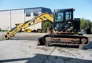 CATERPILLAR 314DCR EXCAVATOR *WRECKING*