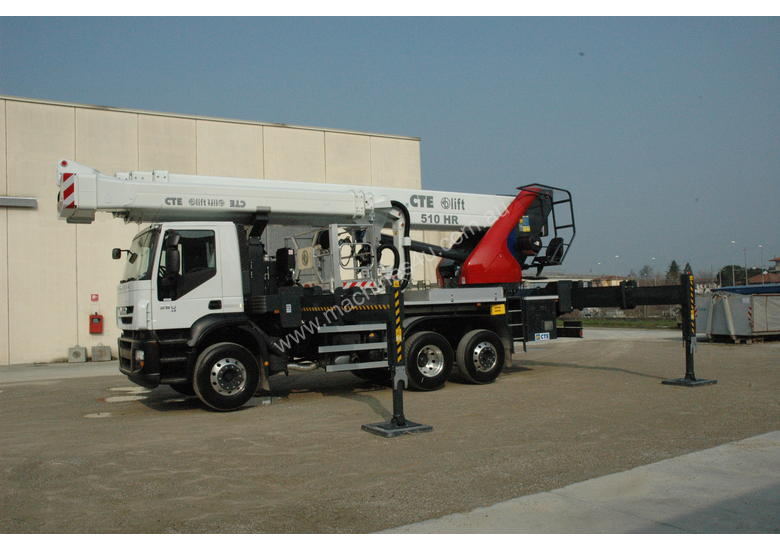 CTE B-Lift 510 HR Truck-Mounted Platform