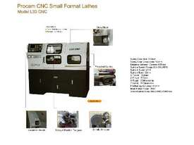 Procam CNC Lathes - picture1' - Click to enlarge