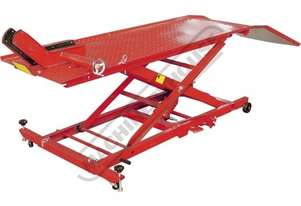 MLR-454 Hydraulic Motorcycle Lifter - Wide Platform 220 ~ 760mm Lift Height 454kg Load Capacity