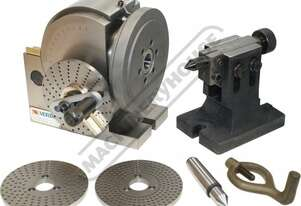 BS-1 Vertex Dividing Head - Semi Universal 128mm Centre Height Suits 160mm 3-Jaw Chuck