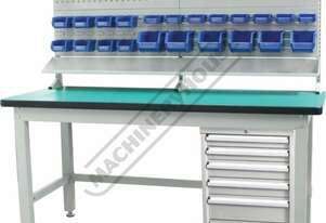 IWB-40P3 Industrial Work Bench Package Deal 1800 x 750 x 1725mm 1000kg Table Top Load Capacity