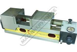 PQV-160V Safeway Pneumatic Production Vice 160mm Jaw Width 150mm Jaw Opening
