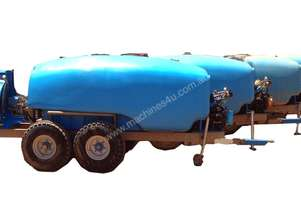 Interlink 4000 litre Bogie axle Air Blast Sprayer