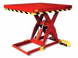 Hydraulic Lift Tables and Scissor Hoists..