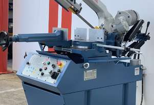 Heavy Duty Industrial 370mmx 260mm Variable Speed Double Mitre Bandsaw
