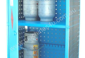 Gas Cylinder Storage cage for 12 x Type T Forklift