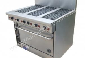 Range Electric 6 BURNER Goldstein PE-6R-28