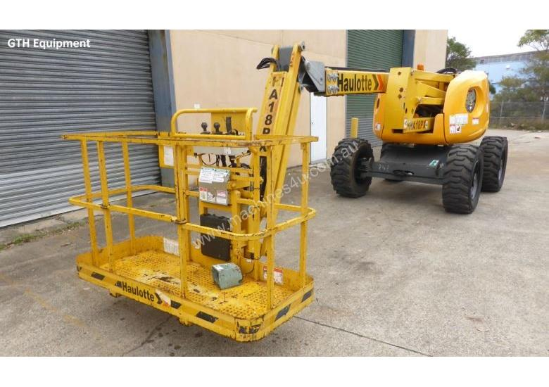 Haulotte HA 18 PX Knuckle Boom Lift