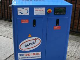 German Rotary Screw - Variable Speed Drive 10hp / 7.5kW Rotary Screw Air Compressor... Power Savings - picture1' - Click to enlarge
