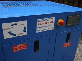 German Rotary Screw - Variable Speed Drive 10hp / 7.5kW Rotary Screw Air Compressor... Power Savings - picture6' - Click to enlarge