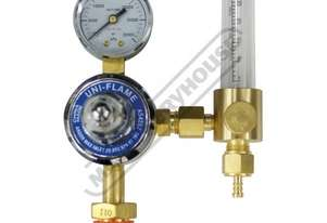 W161 Argon Gas Regulator-Bobbin Flowmeter Suits Cylinders with AS 2473 Type 10 Connection Suits TIGS