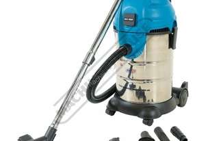WDV-3P Workshop Wet and Dry Vacuum Cleaner 30 Litre Tank 1700 Litres per Minute Air Flow