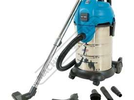 WDV-3P Workshop Wet and Dry Vacuum Cleaner 30 Litre Tank 1700 Litres per Minute Air Flow - picture0' - Click to enlarge