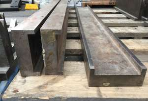 USED Heavy Duty Die Block Cradle 3225mm