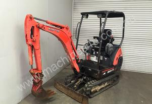 1.6T RUBBER TRACKED MINI EXCAVATOR S/N -374