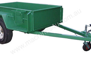 Western Trailers And Engineering Box Trailers High Sides
