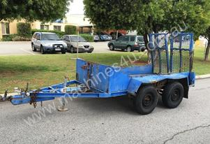 CHEAP LONG DECK PLANT TRAILER, NEEDS WORK, GNG5566