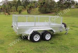 10x5 Galvanised Hydraulic Tipping Trailer 3000kg
