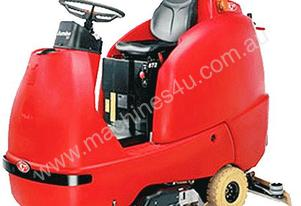 Rcm RIDE ON SCRUBBER / SWEEPER