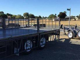 14x7 Flat Top Trailer - picture0' - Click to enlarge