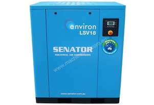 18KW VSD Controlled Screw Compressor