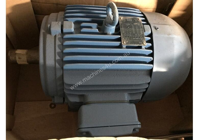 Used weg 5 5 kw 7 5 hp 2 pole 415 v ac electric motor for 7 5 hp 3 phase motor