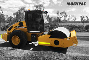 MULTIPAC 112H Smooth Drum Vibrating Roller
