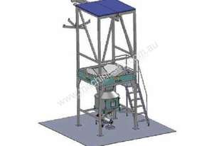Bulk Bag Unloader with Electric Hoist (s/s)