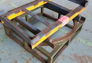 Pallet Turntable Packing Table Warehouse Packaging Rotater
