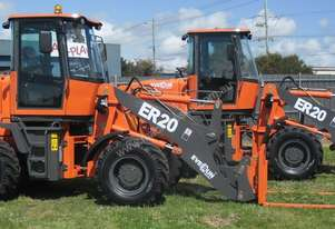 Everun ER20 Wheel Loader - 94HP, 4 in 1 Bucket, Pallet Forks, Spare Wheel
