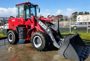 Titan  TL20 Wheel Loader - 105HP, 4 in 1 Bucket, Pallet Forks, Spare Wheel