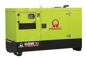 Pramac 19.5kVA Single Phase Perkins Rental Ready Perkins Diesel Generator, PFL