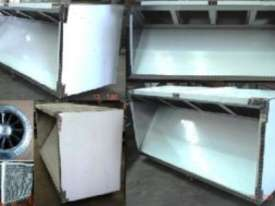 STAINLESS STEEL EXHAUST CANOPY - commercial canopies - picture0' - Click to enlarge