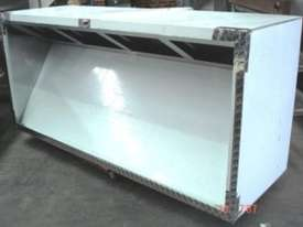 STAINLESS STEEL EXHAUST CANOPY - commercial canopies - picture2' - Click to enlarge