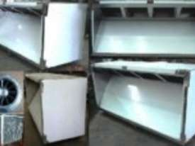 2400mm Wide Commercial Pizza Canopy - picture2' - Click to enlarge
