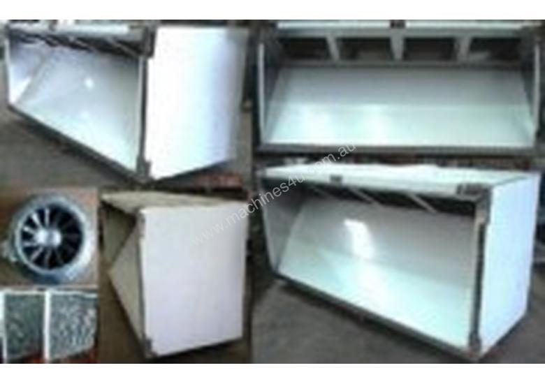 2400mm Wide Commercial Pizza Canopy