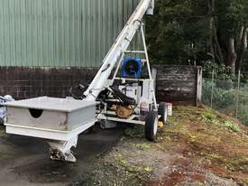 Mobile Loading Auger - Stainless Steel - picture0' - Click to enlarge